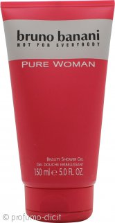Bruno Banani Pure Woman Gel Doccia 150ml