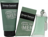 Bruno Banani Made for Men Confezione Regalo 50ml EDT Spray + 150ml Gel Doccia