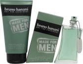 Bruno Banani Made for Men Confezione Regalo 50ml EDT Spray + 150ml Gel Doccia