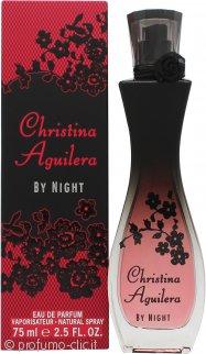 Christina Aguilera By Night Eau de Parfum 75ml Spray
