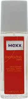 Mexx Energizing Man Deodorante Spray 75ml
