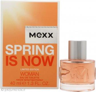 Mexx Spring is Now Woman Eau de Toilette 40ml Spray
