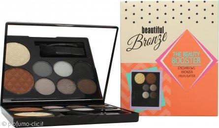 Sunkissed Beautiful Bronze Beauty Booster Confezione Regalo 6 x 2g Ombretti + 4g Bronzer + 4g Highlighter + Applicatore