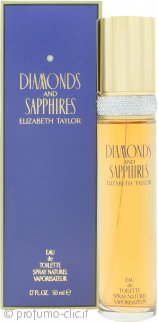 Elizabeth Taylor Diamonds & Sapphires Eau de Toilette 50ml Spray