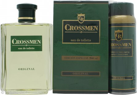 Coty Crossmen Original Confezione Regalo 200ml EDT + 150ml Deodorante Spray