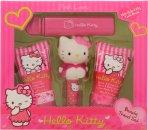 Hello Kitty Pink Love Confezione Regalo 30ml Lozione Corpo + 30ml Gel Doccia + 4.5g Balsamo Labbra + Fragranza Fruttata