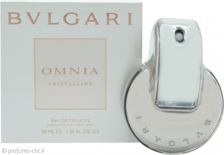 Bvlgari Omnia Crystalline Eau de Toilette 40ml Spray