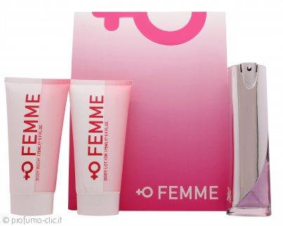 Laurelle Femme Confezione Regalo 100ml EDP + 175ml Bagnoschiuma + 175ml Lozione Corpo
