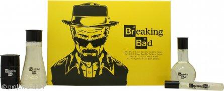 Breaking Bad Breaking Bad Confezione Regalo 75ml EDT + 150ml Bagnoschiuma + 2 x 14g Saponi da Bagno + 15ml EDT