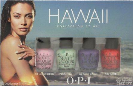 OPI Hawaii Confezione Regalo 4 x 3.75ml Smalti