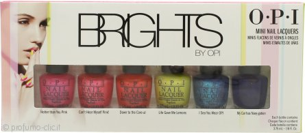 OPI Brights Confezione Regalo 6 x 3.75ml Smalti
