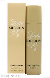 Paco Rabanne Lady Million Deodorante Spray 150ml