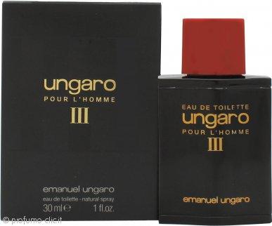 Ungaro Ungaro III Pour L'Homme Eau de Toilette 30ml Spray