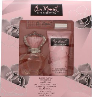 One Direction Our Moment Confezione Regalo 30ml EDP + 10ml EDP Rollerball + 50ml Lozione Corpo