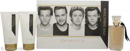 One Direction Between Us Confezione Regalo 100ml EDP + 150ml Lozione Corpo + 150ml Gel Doccia