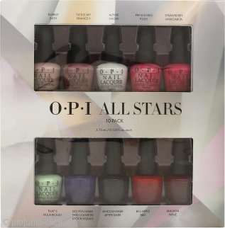 OPI All Stars Confezione Regalo 10 x 3.75ml Smalti