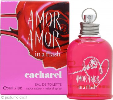 Cacharel Amor Amor In a Flash Eau de Toilette 50ml Spray