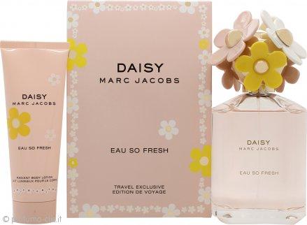 Marc Jacobs Daisy Eau So Fresh Confezione Regalo 125ml EDT + 75ml Lozione Corpo