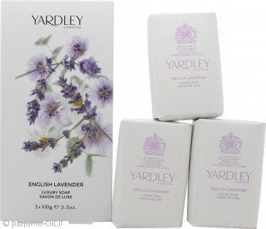 Yardley English Lavender Saponi 3 x 100g
