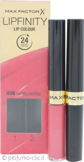 Max Factor Lipfinity Lip Colour - 026 So Delightful