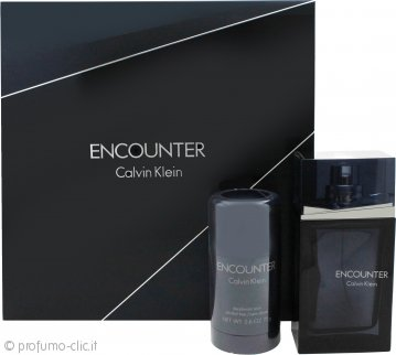 Calvin Klein Encounter Confezione Regalo 100ml EDT + 75ml Deodorante Stick