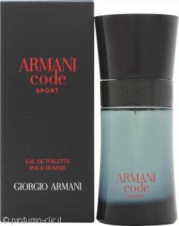 Giorgio Armani Armani Code Sport Eau de Toilette 50ml Spray