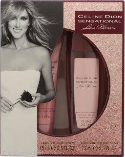 Celine Dion Sensational Luxe Blossom Confezione Regalo 75ml Deodorante Spray + 75ml Lozione Corpo