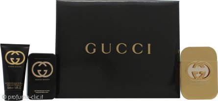 Gucci Guilty for Her Confezione Regalo 75ml EDT + 100ml Lozione Corpo + 50ml Gel Doccia