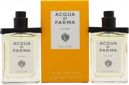 Acqua di Parma Colonia Confezione Regalo 2 x 30ml EDC Ricariche da Viaggio