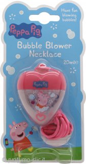 Peppa Pig Mini Bath Bubble Blower a Collana 15ml