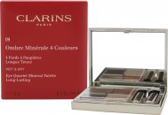 Clarins Ombre Minerale Eye Quartet Mineral Palette Lunga Durata 5.8g - Odyssey 09