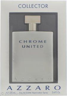 Azzaro Chrome United Eau de Toilette 100ml Spray - Edizione Collezionisti