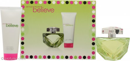 Britney Spears Believe Confezione Regalo 100ml EDP + 100ml Body Souffle