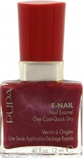 Pupa Smalto One Coat Quick Dry Red 12ml