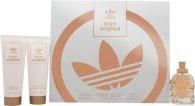 Adidas Born Original for Her Confezione Regalo 50ml EDP + 75ml Lozione Corpo + 75ml Gel Doccia