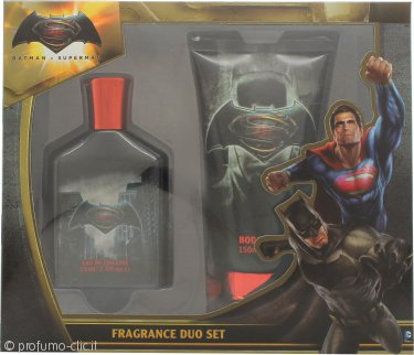 Batman Batman Vs Superman Confezione Regalo 75ml EDT + 150ml Bagnoschiuma