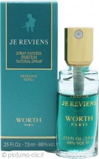 Worth Je Reviens Eau de Parfum 7.5ml Ricarica Spray