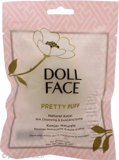 Doll Face Pretty Puff Natural Konjac Skin Spugna Detergente ed Esfoliante