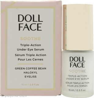 Doll Face Soothe Under Eye Puffiness Triple Action Siero 15ml