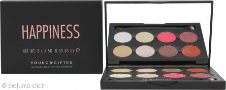 Young & Gifted Palette Ombretti - Happines