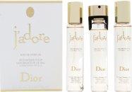 Christian Dior J'Adore Confezione Regalo 100ml EDP + 7.5ml Spray da Viaggio