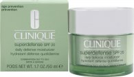 Clinique Superdefense SPF20 Daily Defense Idratante 50ml - Pelle Mista/Grassa
