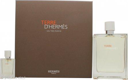 Hermes Terre d'Hermès Eau Très Fraîche Confezione Regalo 125ml EDT + 12.5ml EDT