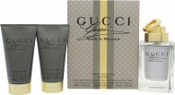 Gucci Made to Measure Confezione Regalo 90ml EDT Spray + 50ml Balsamo Dopobarba + 50ml All Over Shampoo