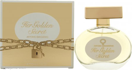 Antonio Banderas Her Golden Secret Eau de Toilette 50ml Spray