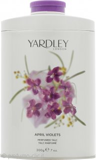 Yardley April Violets Talco Profumato 200g