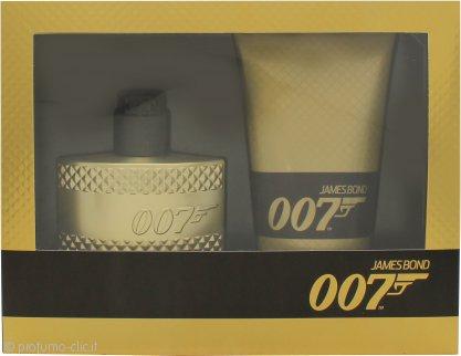 James Bond 007 Gold Confezione Regalo 50ml EDT + 150ml Gel Doccia