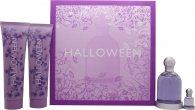 Jesus del Pozo Halloween Confezione Regalo 100ml EDT + 150ml Lozione Corpo + 150ml Gel Doccia + 4.5ml EDT