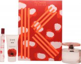 Kenzo Flower In The Air Confezione Regalo 100ml EDP Spray + 15ml EDP + 50ml Latte Corpo