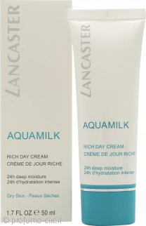 Lancaster Aquamilk Rich Crema Giorno 50ml